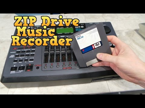 ZIP Disk Music Recorder, the BOSS BR-8