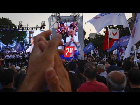 Αρμενία: Συγκεντρώσεις πριν τις εκλογές