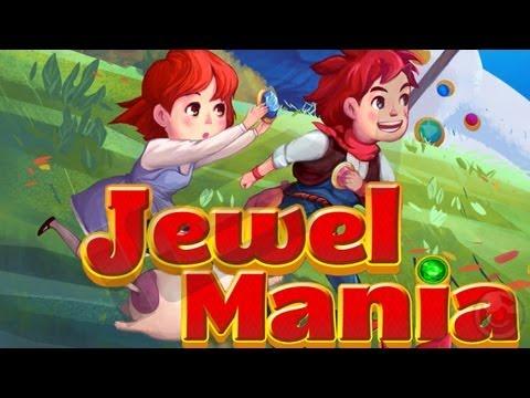 Jewel Mania™ - iPhone & iPad Gameplay Video