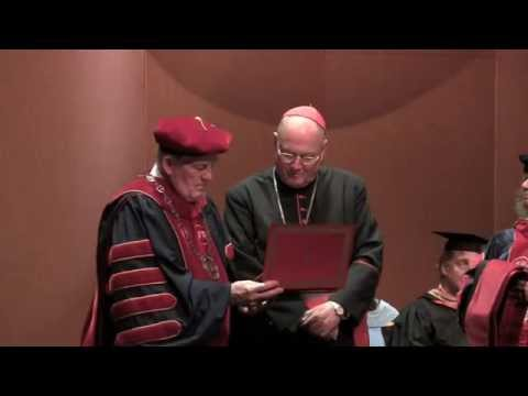 Saint Mary's honors Archbishop of New York
