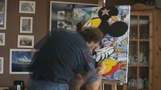 MICKEY MOUSE POP ART