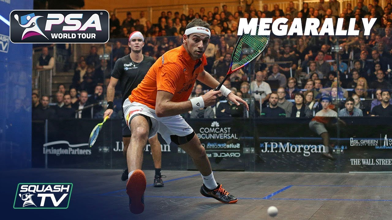 """Goodness Gracious Me, WHAT A RALLY!"" - ElShorbagy v Elias - ToC 2019 - MegaRally"