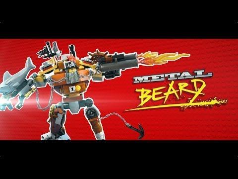 The Lego Movie (Character Profile 'Meet Metal Beard')