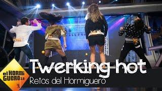Beatriz Luengo y Pablo Motos mueven sus 'cucus' a ritmo del twerking más hot - El Hormiguero 3.0