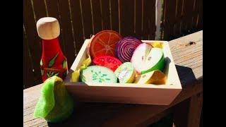 DIY Painting Playfood - Picnic Sets Part 2