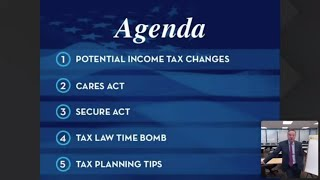 2020 End Of Year Tax Planning Webinar | Your Money, Your Wealth®