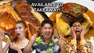 Food King Singapore: Steak That Made Us CRY!