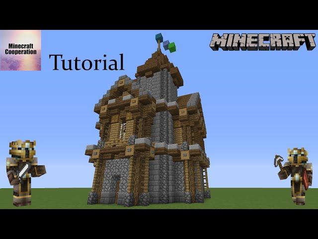 Minecraft Tutorial Mittelalterliches Survival Minecraft Mittelalter - Minecraft haus bauen survival
