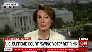 "SHOCK: U.S. Supreme Court's ""Swing Vote"" Retires"