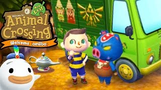 Animal Crossing: New Leaf - Welcome amiibo Update! - New Features & Wisp - 3DS Gameplay Walkthrough