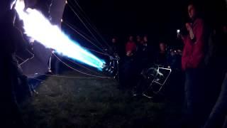 Krosno: Balony nad Krosnem - nocny pokaz balonów