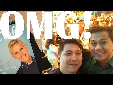 Went to THE ELLEN SHOW! (Using Only Standby Tickets)