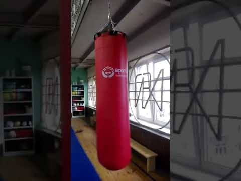 Работа с боксёрским мешком SportPanda