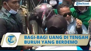 2 Anggota DPRD Pekalongan Bagi-bagi Uang ke Buruh yang Demo, Candra: Agar Sedikit Membantu