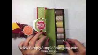 Simply Simple HERSHEY NUGGET GIFT BOX By Connie Stewart