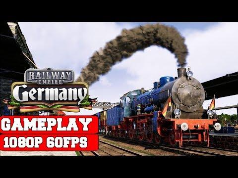Railway Empire Germany Gameplay (PC)