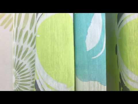 Esprit Fertigschal Dekoschal Ösenschal Bonita grün blau