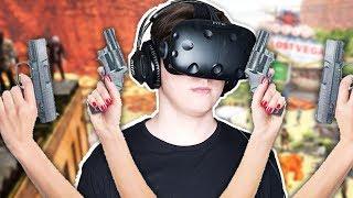 ЗОМБИ! ОНИ ЗА СПИНОЙ В VR! НАМ НУЖНО БОЛЬШЕ РУК! ( Arizona Sunshine ) HTC Vive