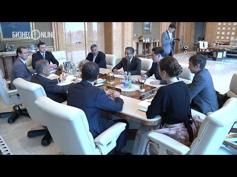 Рустам Минниханов встретился с арабским миллиардером Мохамедом аль-Аббаром