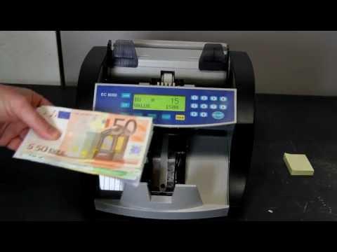 Valorizzatrice e conta banconote EC 8000