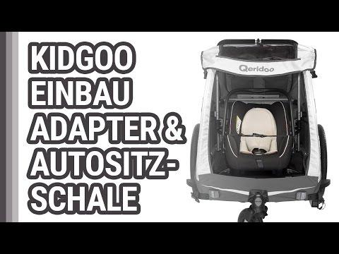 Einbau Autositzschale Qeridoo im KidGoo
