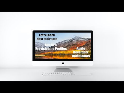 How to Create Apple Developer Certificate, Provisioning profiles ...