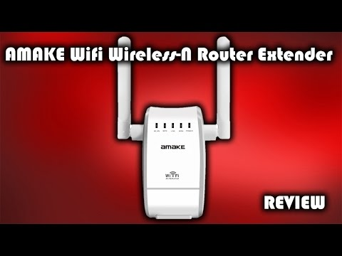 AMAKE WiFi Wireless-N Router Extender Review