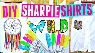 DIY SHARPIE SHIRTS | DIY Clothes for Summer