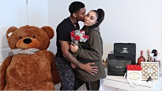 SURPRISING MY GIRLFRIEND FOR VALENTINES DAY! ❤️*VERY EMOTIONAL*