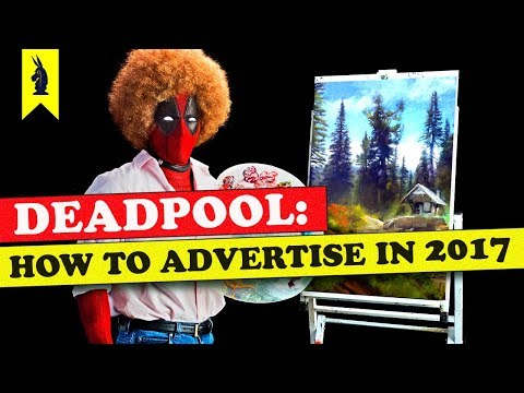 Deadpool: How to Advertise in 2018 – Wisecrack Edition