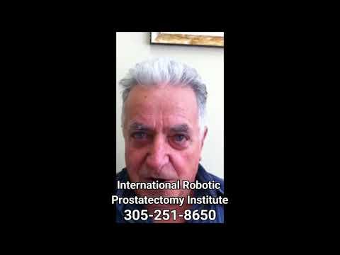 Tanto aspirado en la próstata