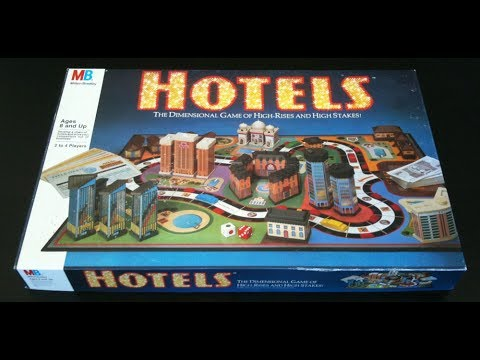 Calvin's Got Game: Hotels By Milton Bradley Review