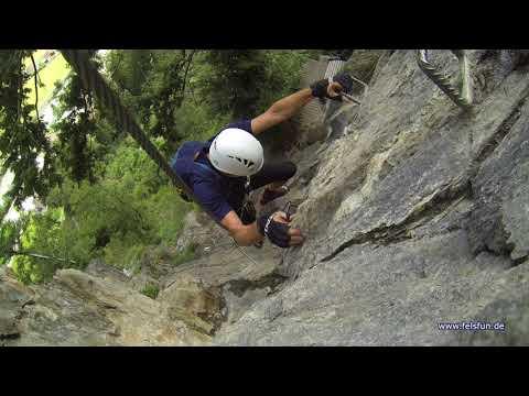 Pfeilspitzwand Klettersteig 2017 die 6-te