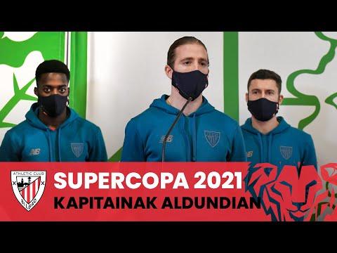 🎙️ Declaraciones de los capitanes I Diputación Foral I Supercopa 2021