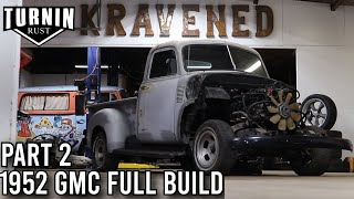 Swapping Over The 5.3 LS | 1952 GMC 3100 Restoration Part 2 | Turnin Rust