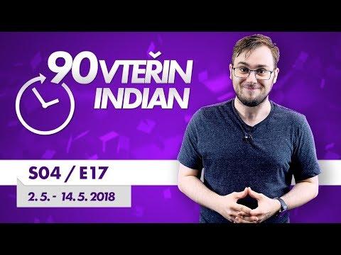 90VTEŘIN #S04E17: TÝDEN ÚNIKŮ (2. 5. - 14. 5. 2018)