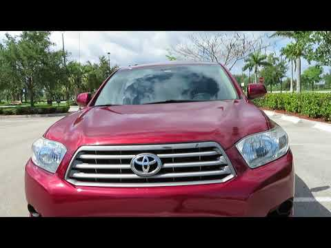 2010 Toyota Highlander For Sale Leather Clean Carfax Beautiful 1 Owner Rust Free