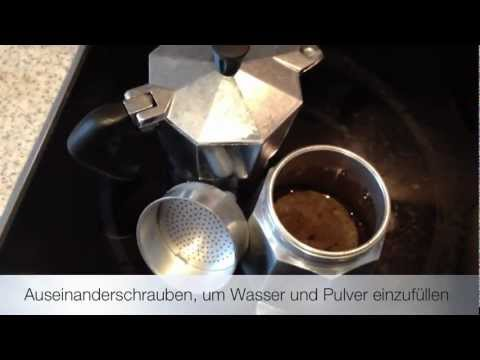 Espresso mit Bialetti Espresso-Kocher