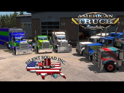 We Got A Long Way To Go..... | American Truck Simulator (MP) With Silent Squad