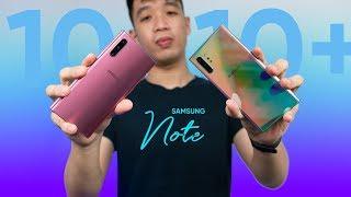 Galaxy Note 10 Không Hề LÉP VẾ So Với Note 10+