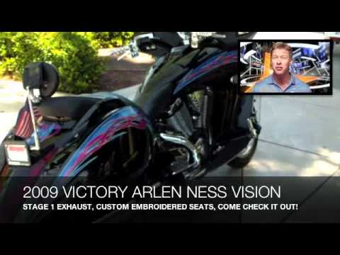 2009 VICTORY ARLEN NESS VISION