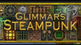 Обзор ресурспака Glimmars Steampunk x32/x64 - Minecraft