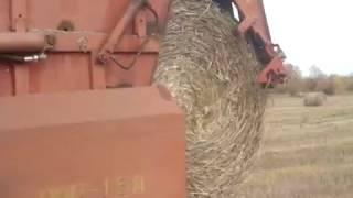 Агро Завалля пресування соломи в рулони ПРП 1 6 ЮМЗ 6