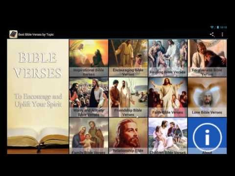 Video of Best Bible Verses By Topic