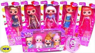 NEW СЕМЕЙКА СУПЕРМОДЕЛИ МАМЫ ЛОЛ ДЕТИШКИ! Куклы Сюрприз! Мультик ЛОЛ! LOL Families Surprise unboxing