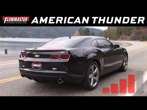 2010-13 Camaro SS 6.2L - American Thunder Axle-back Exhaust System 817495