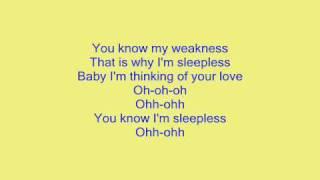 Eric Saade♥♥♥-Sleepless- Lyrics