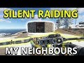 Download Video Silent Raiding My Neighbours - Rust Solo Survival Gameplay