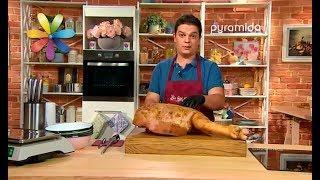 Как разделать свиной окорок: мастер-класс Артема Радучича  – Все буде добре. Выпуск 1101 от 09.10.17