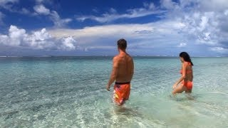 preview picture of video 'Lalomanu Beach and Apia Markets, Samoa 2013, Travel Video Guide'